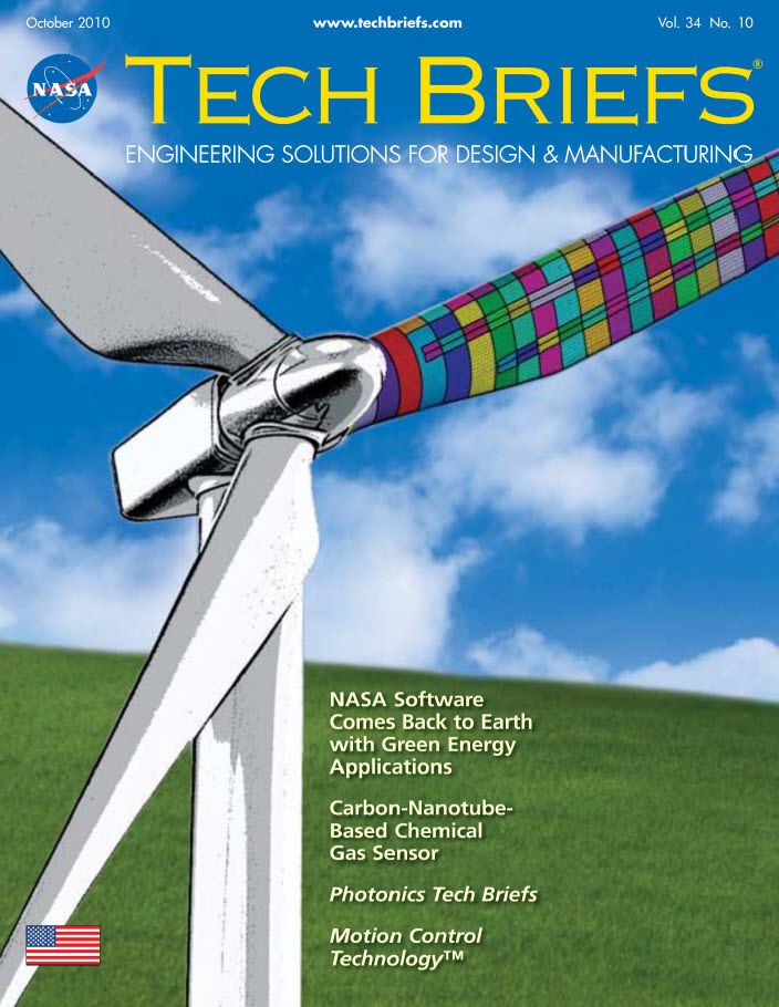 NASA Tech Briefs – From Aircraft Wings to Wind Turbine ...